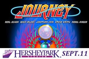 Journey and Pretenders at Hersheypark Stadium Sept 11th