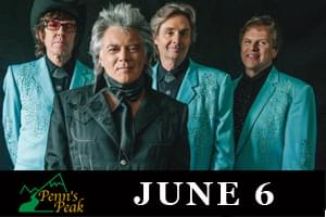 Marty Stuart and His fabulous Superlatives at Penn's Peak June 6th