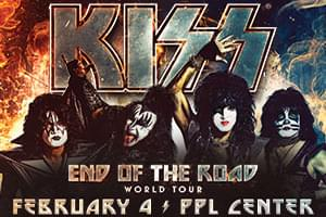99.9 The Hawk Welcomes KISS to PPL Center