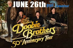99.9 The Hawk Welcomes The Doobie Brothers to PPL Center!