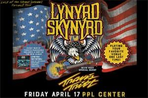 RESCHEDULED: Lynyrd Skynyrd at PPL Center April 17th, is now September 11th