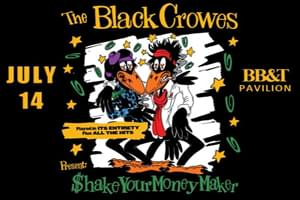 The Black Crowes at BB&T Pavilion July 14