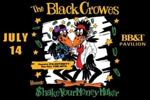 POSTPONED: The Black Crowes at BB&T Pavilion July 14