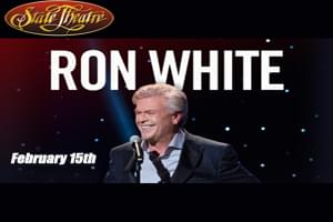 99.9 the Hawk Welcomes Ron White to the State Theater on February 15th