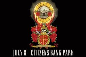 Guns N Roses at Citizens Bank Park July 8th