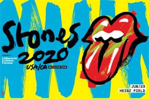 POSTPONED: The Rolling Stones at Heinz Field June 23rd