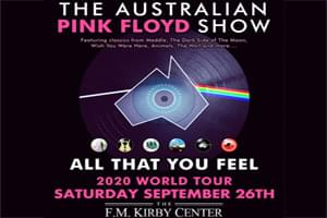 The Australian Pink Floyd Show at the Kirby Center September 29th