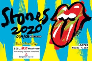 99.9 The Hawk Welcomes The Rolling Stones to Heinz Field June 23rd!