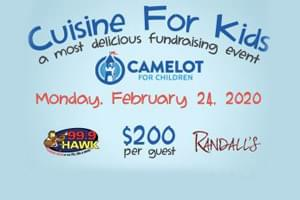 99.9 The Hawk at Cuisine For Kids by Camelot For Children