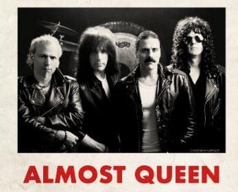 Almost Queen at Santander Performing Arts Center October 9 (Rescheduled Date)