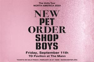 99.9 The Hawk Welcomes the Pet Shop Boys & New Order to TD Pavilion at the Mann