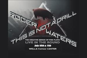 99.9 The Hawk Welcomes Roger Waters to the Wells Fargo Center July 10th!