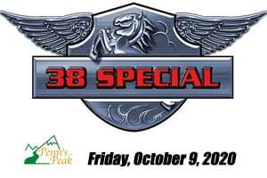 38 Special at Penns Peak October 9