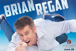 POSTPONED: Brian Regan at Wind Creek Event Center June 26, now March 28, 2021