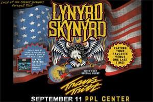 CANCELLED: Lynyrd Skynyrd at PPL Center September 11th