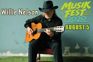 Willie Nelson at Musikfest on August 5