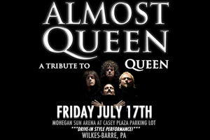 99.9 The Hawk Welcomes the 'Almost Queen' Drive-In Concert to Mohegan Sun Arena Parking Lot