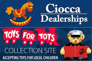"""Ciocca Dealerships """"Toys for Tots"""" Collection"""