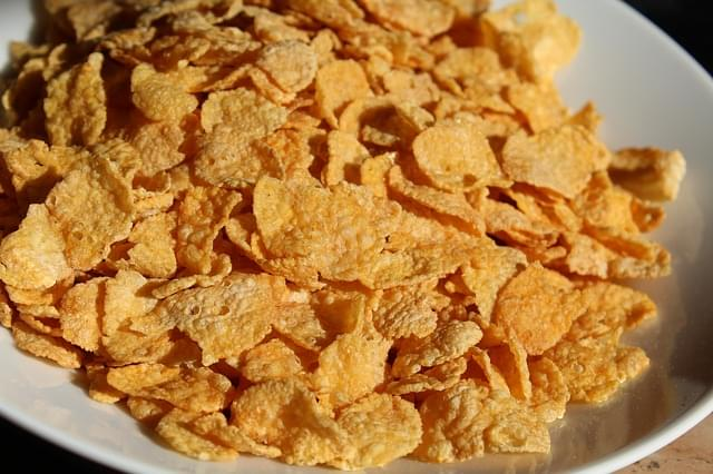 Customs agents in Cincinnati seized 44 pounds of corn flakes covered in cocaine instead of sugar