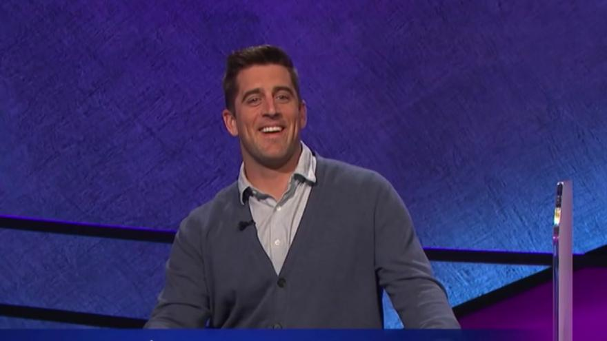 Aaron Rodgers to Guest-Host 'Jeopardy' for 2 Weeks Starting on April 5