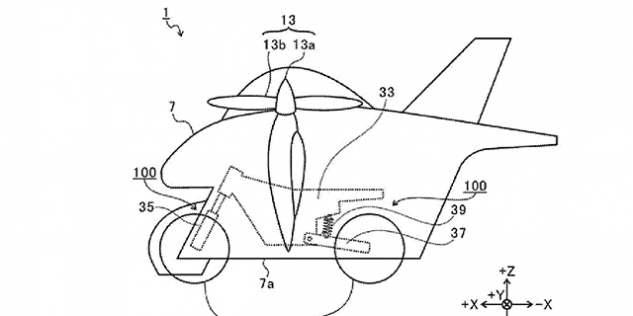 Subaru Has Designed a Flying Motorcycle. Seriously.