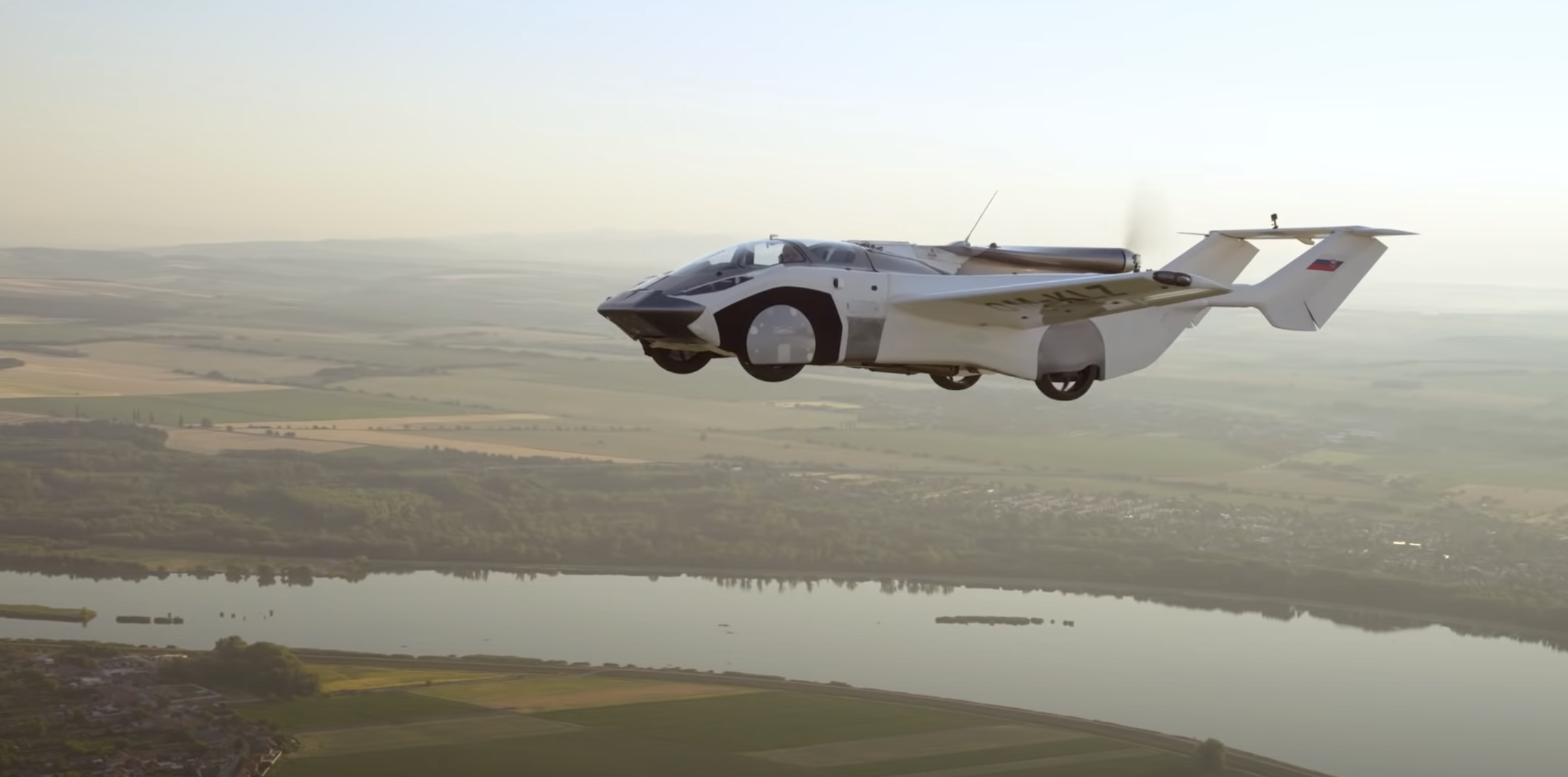 WATCH: The flying car completes first ever inter-city flight