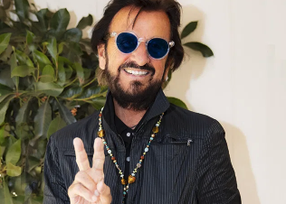 Ringo is spreading Peace and Love on his birthday 7-7-21