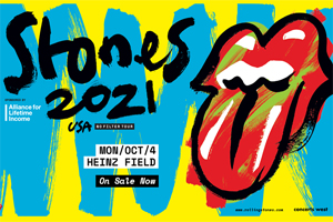 99.9 The Hawk Welcomes the Rolling Stones to Heintz Field in Pittsburgh