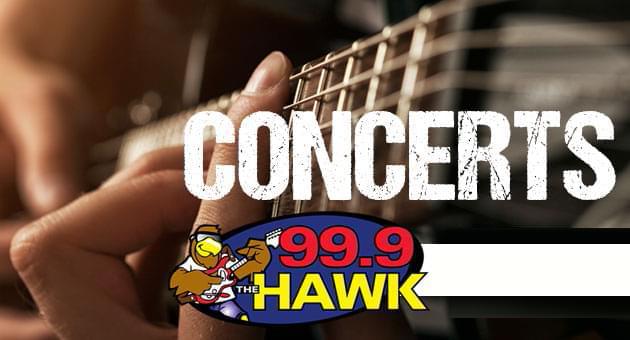 99.9 The Hawk Concerts