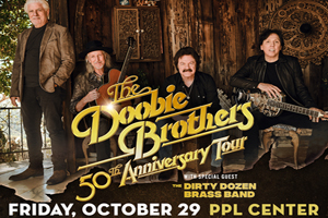 99.9 The Hawk Welcomes the Doobie Brothers to the PPL Center