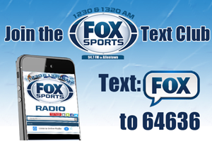 Lehigh Valley Fox Sports Text Club!
