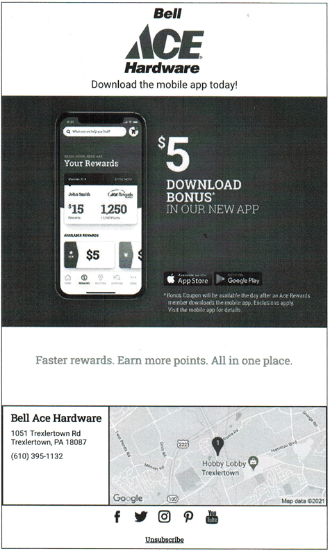 Bell Ace Hardware