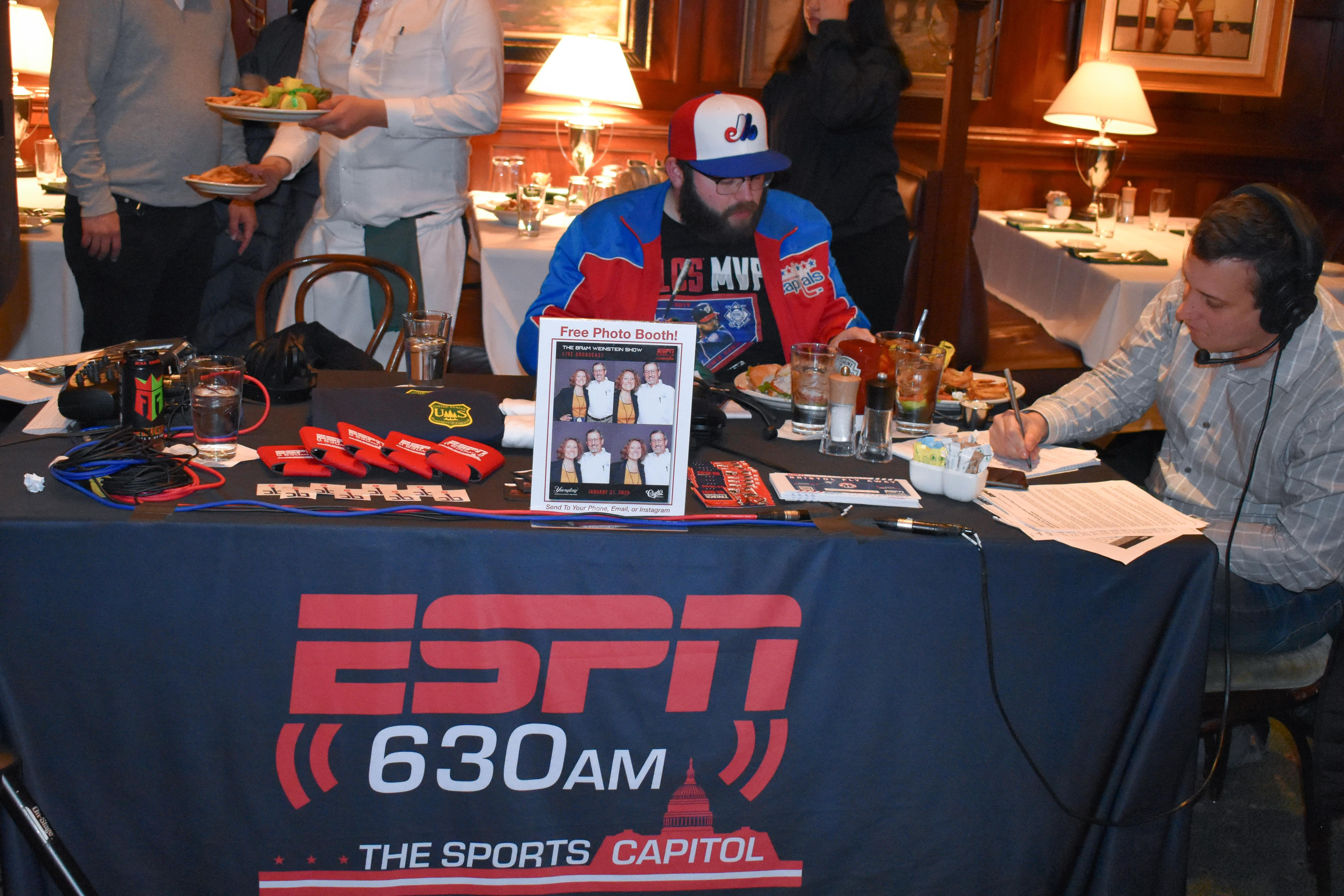 Live Broadcasts From Clyde's of Gallery Place (Pres. By Yuengling)