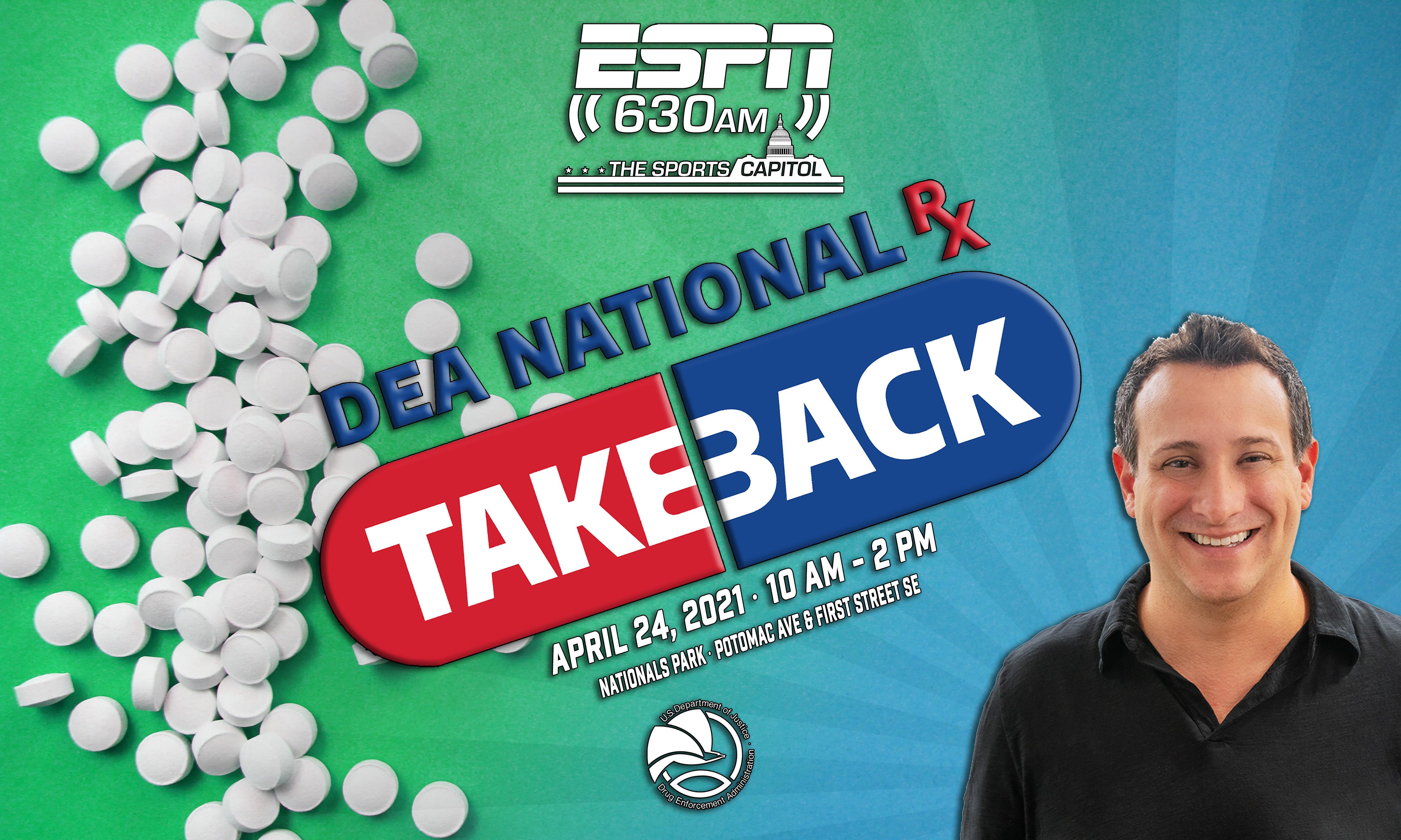 DEA National Takeback Event Art