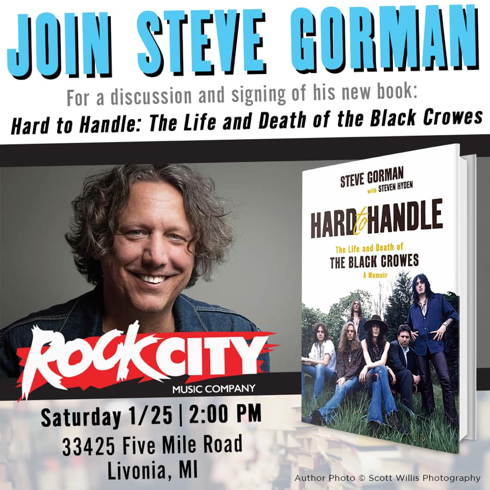 Steve's Book Signing in Michigan 1/25!