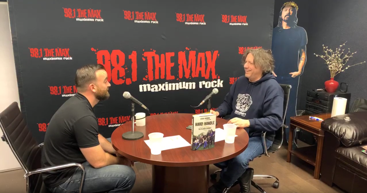 "Steve's Interview on ""The Stump"" with 98.1 The Max"