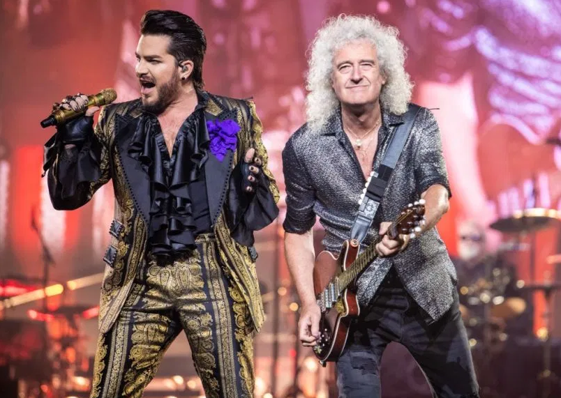 Adam Lambert & Queen Cover 'Whole Lotta Love'