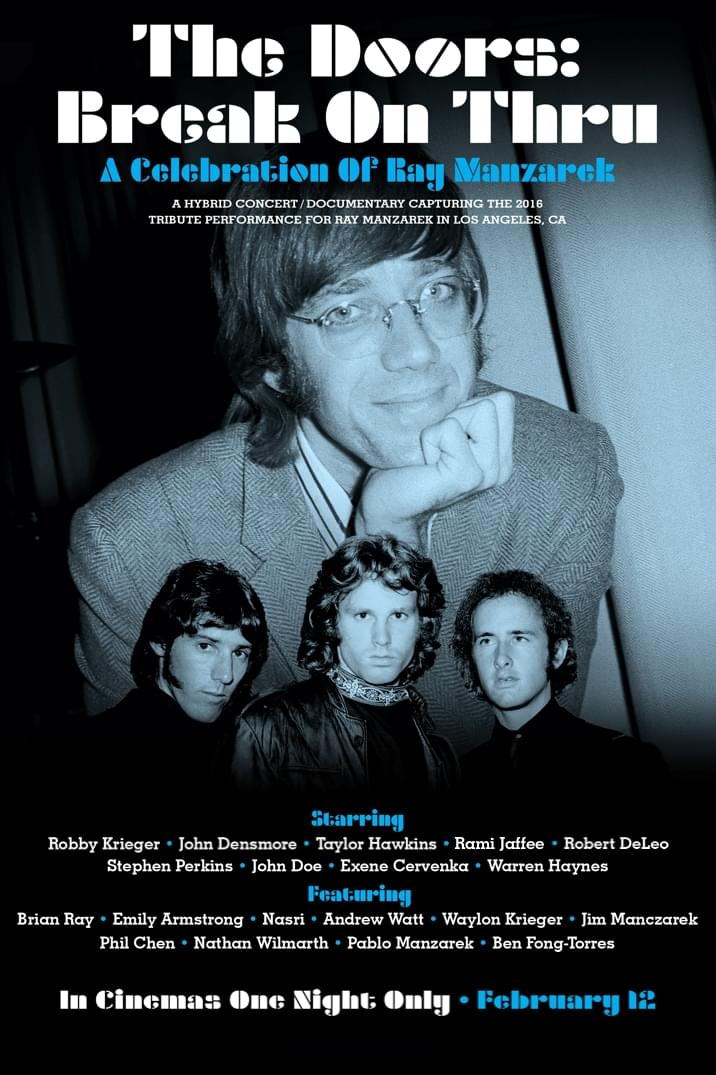 'The Doors: Break On Thru' In Theaters for One Night Only