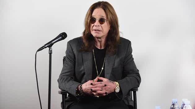 Ozzy Osbourne Cancels Tour Citing Parkinson's Diagnosis