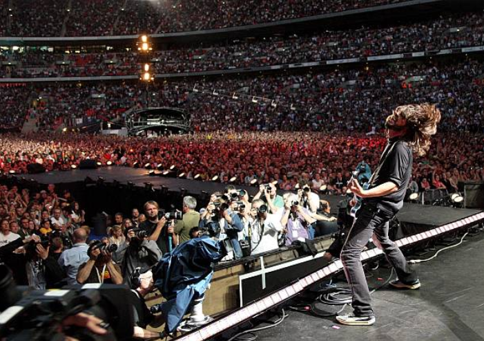 Foo Fighters & Led Zeppelin Release Full Show at Wembley Stadium