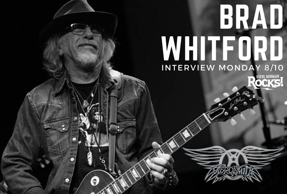 Steve Talks with Aerosmith's Brad Whitford!