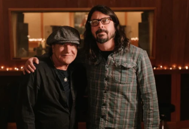 New Documentary with Brian Johnson and Dave Grohl