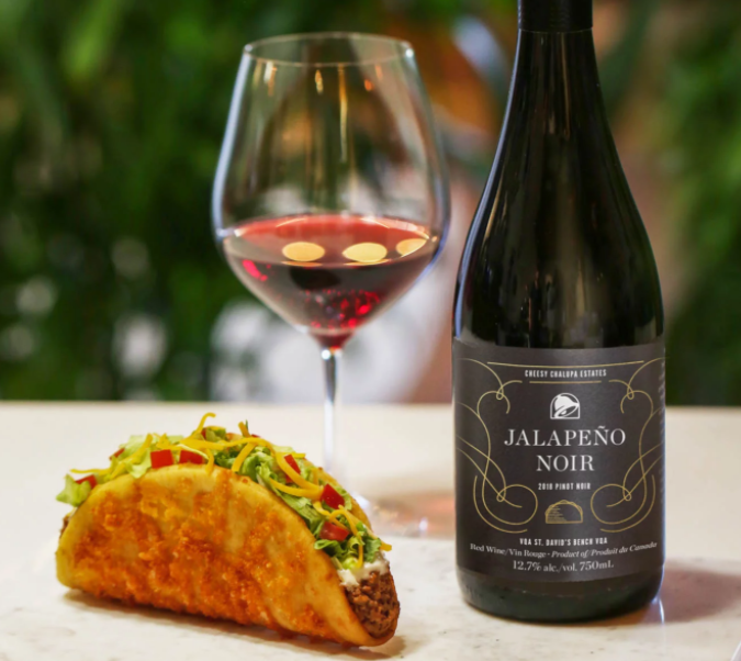 An Official Taco Bell Wine To Be Released