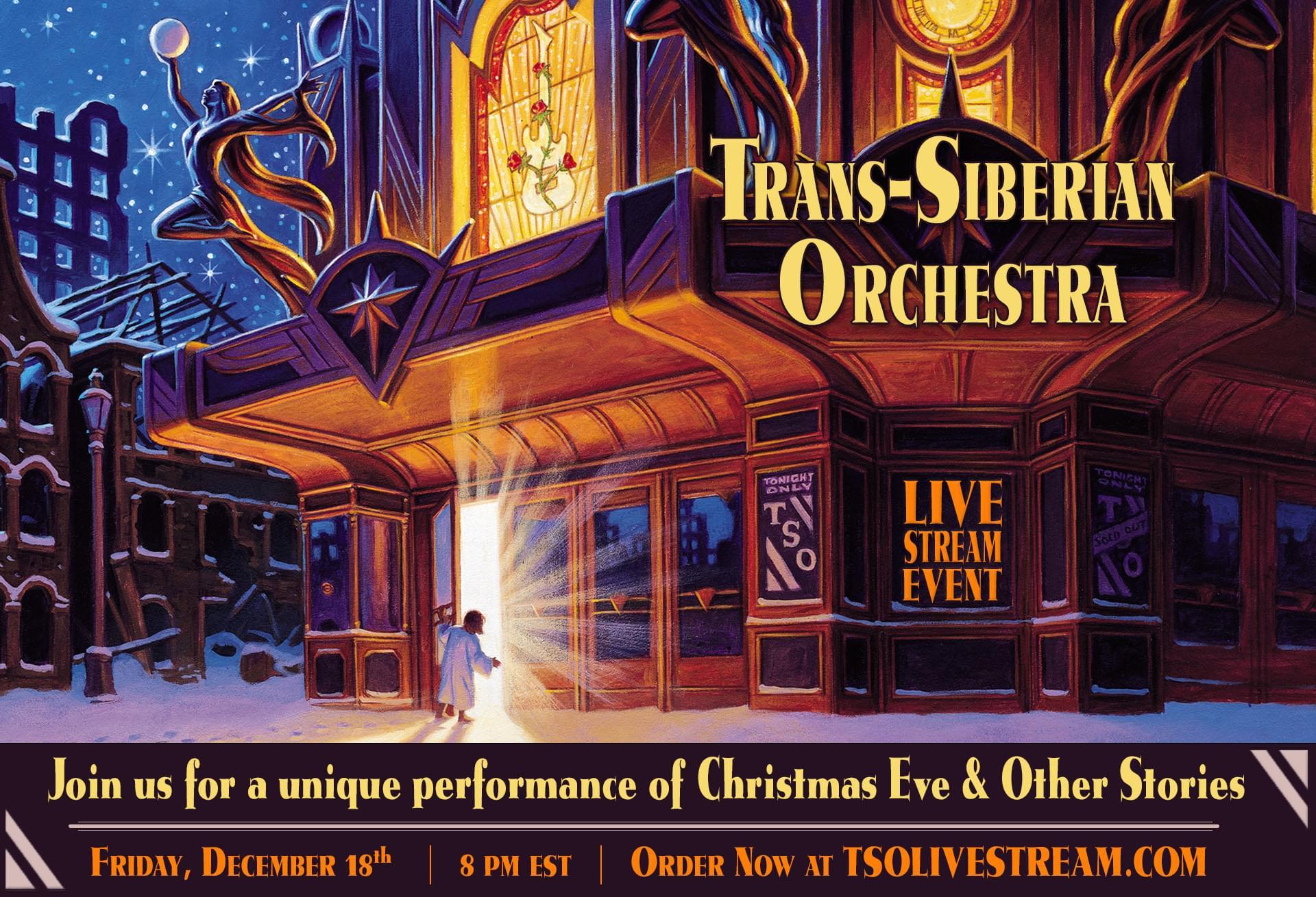 Trans-Siberian Orchestra Livestream!