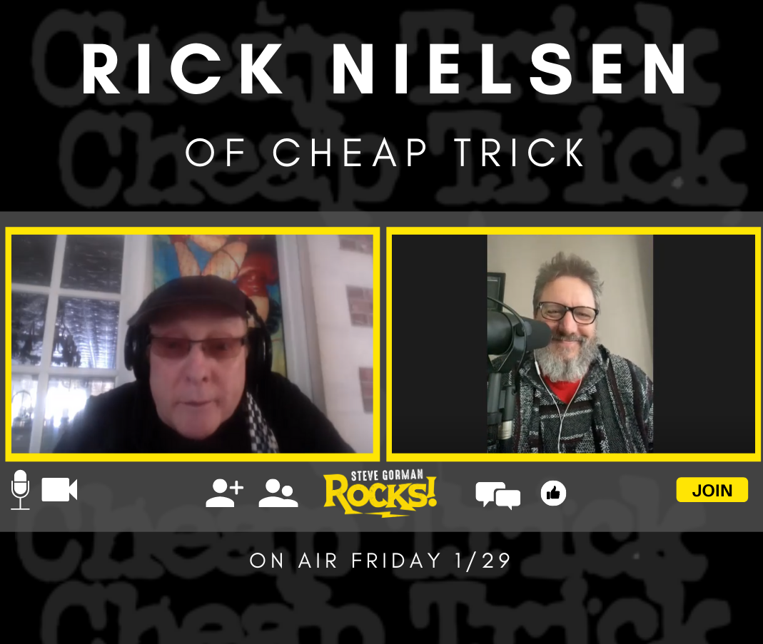 Steve Talks with Cheap Trick's Rick Nielsen!