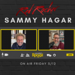 Steve Talks with Sammy Hagar!
