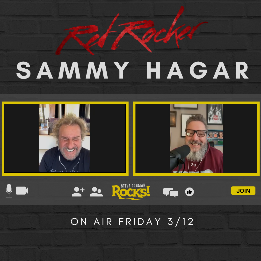 Steve Talks with Sammy Hagar!