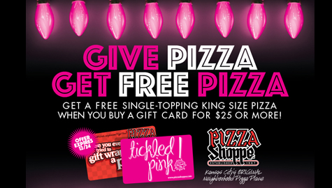 Win a $25 Pizza Shoppe Gift Card!