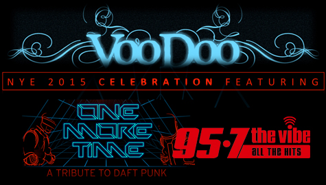 Celebrate NYE at VooDoo Lounge with 95-7 The Vibe!