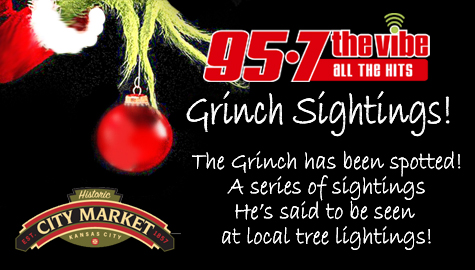 95-7 The Vibe Grinch Sightings!
